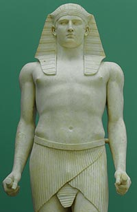 Antinoo como a divindade egipcia Osiris