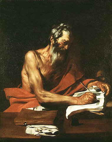 """""""São Jerônimo"""", de Ribera (1613)"""